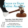 PetitsPawz' First Online Auction!