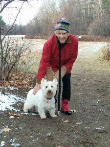 (Charlie) is filling a void of companionship for my mother, and has a great spirit.