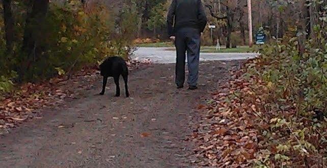 Coal, with the author's father, who has also since passed on.